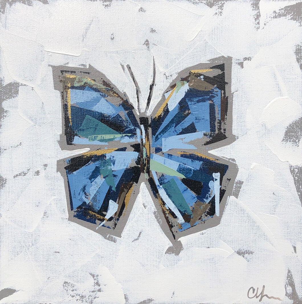 "SOLD - ""Blue Morpho V"""