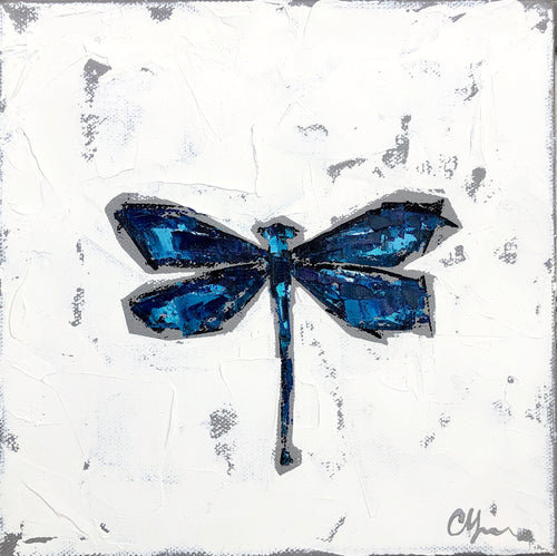 "SOLD -""Beautiful Demoiselle Damselfly"""