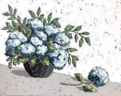 """End of Summer Hydrangeas"" 