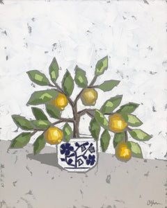 """Lemons in Chinoiserie V"" 