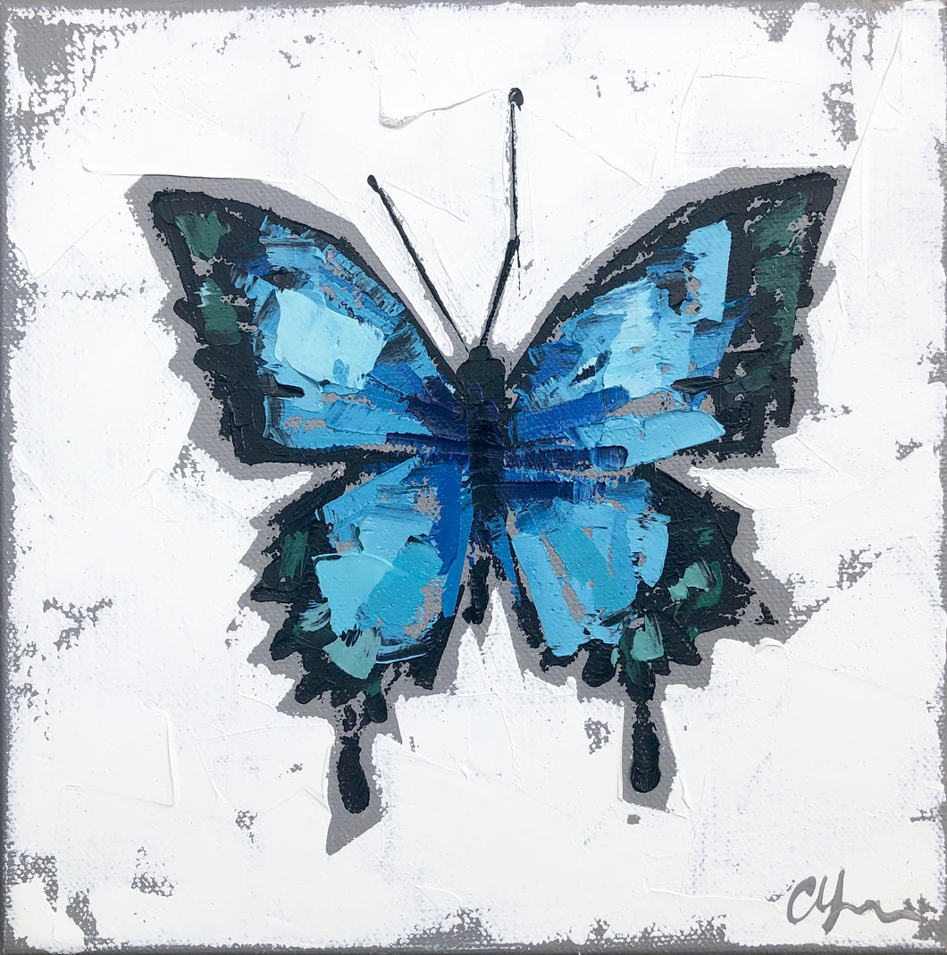 "SOLD - ""Papilio ulysses no. 2"""