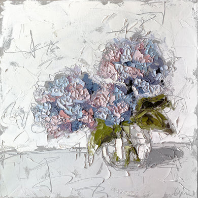 """Hydrangeas in Glass II"