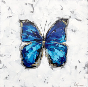 "SOLD - ""Blue Morpho no. 3"""