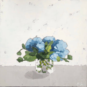 "SOLD - ""Hydrangeas no. 3"""