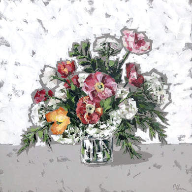 """Posies in Glass no. 2"""