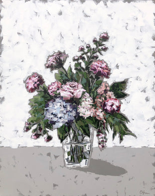 """Posies in Glass no. 1"""