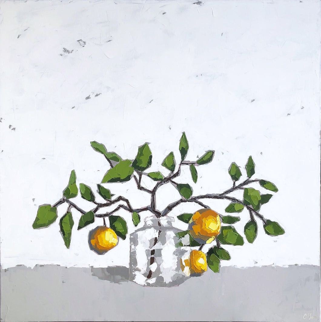 "SOLD - ""Meyer Lemon Tree"""