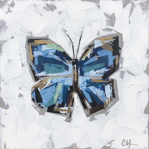 "SOLD - ""Blue Morpho IV"""