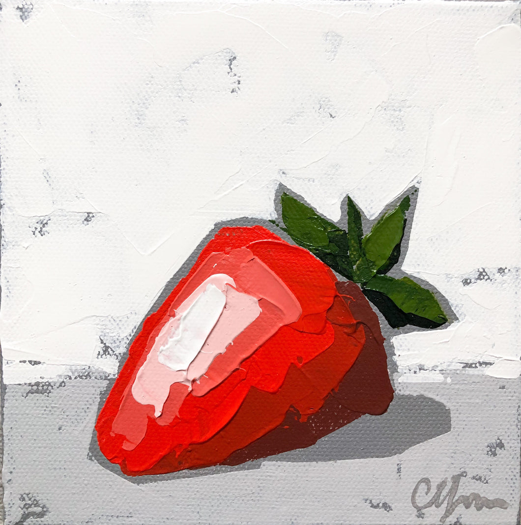 "SOLD - ""Little Strawberry"""