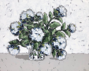"""Hydrangeas in Glass no. 2"""