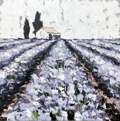 "SOLD - ""Lavender Field"""