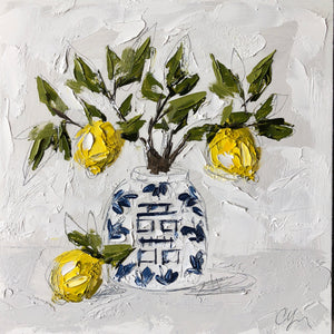 """Lemons in Chinoiserie VIII"" Commission"