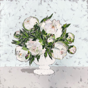 "SOLD - ""Peonies in White"""