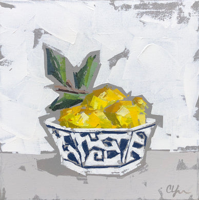 "SOLD - ""Lemons in Bowl I"""