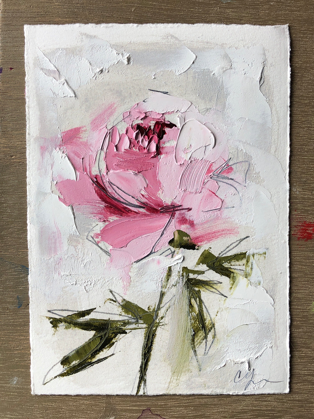 """Pink Peony"" - Russell Commission"