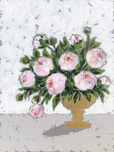 """Peonies in Gold no. 3"""