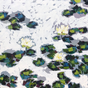 "SOLD - ""Water Lilies"""