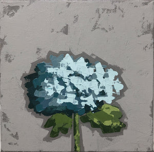 "SOLD - ""Little Blue Hydrangea"""