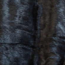 Load image into Gallery viewer, Dark Grey Faux Fur Throw