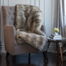 Load image into Gallery viewer, Swallow Wolf Faux Fur Throw