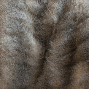 Swallow Wolf Faux Fur Throw
