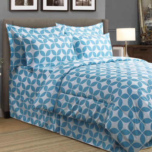 Addison 8pc Bed In A Bag Comforter Set