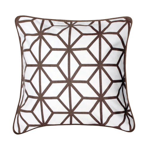 Rhombus Cotton Cushion