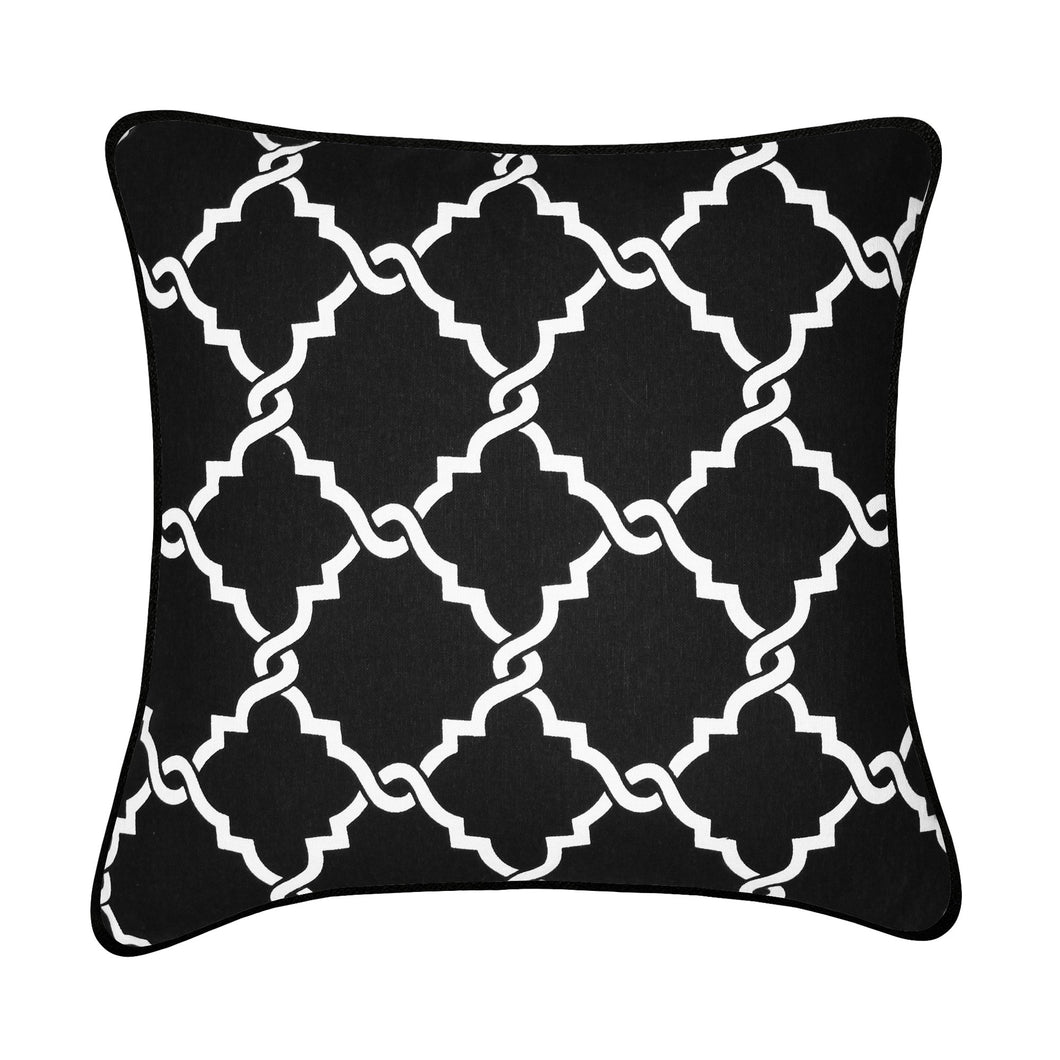 Tesla Decorative 100% Cotton Throw Cushion