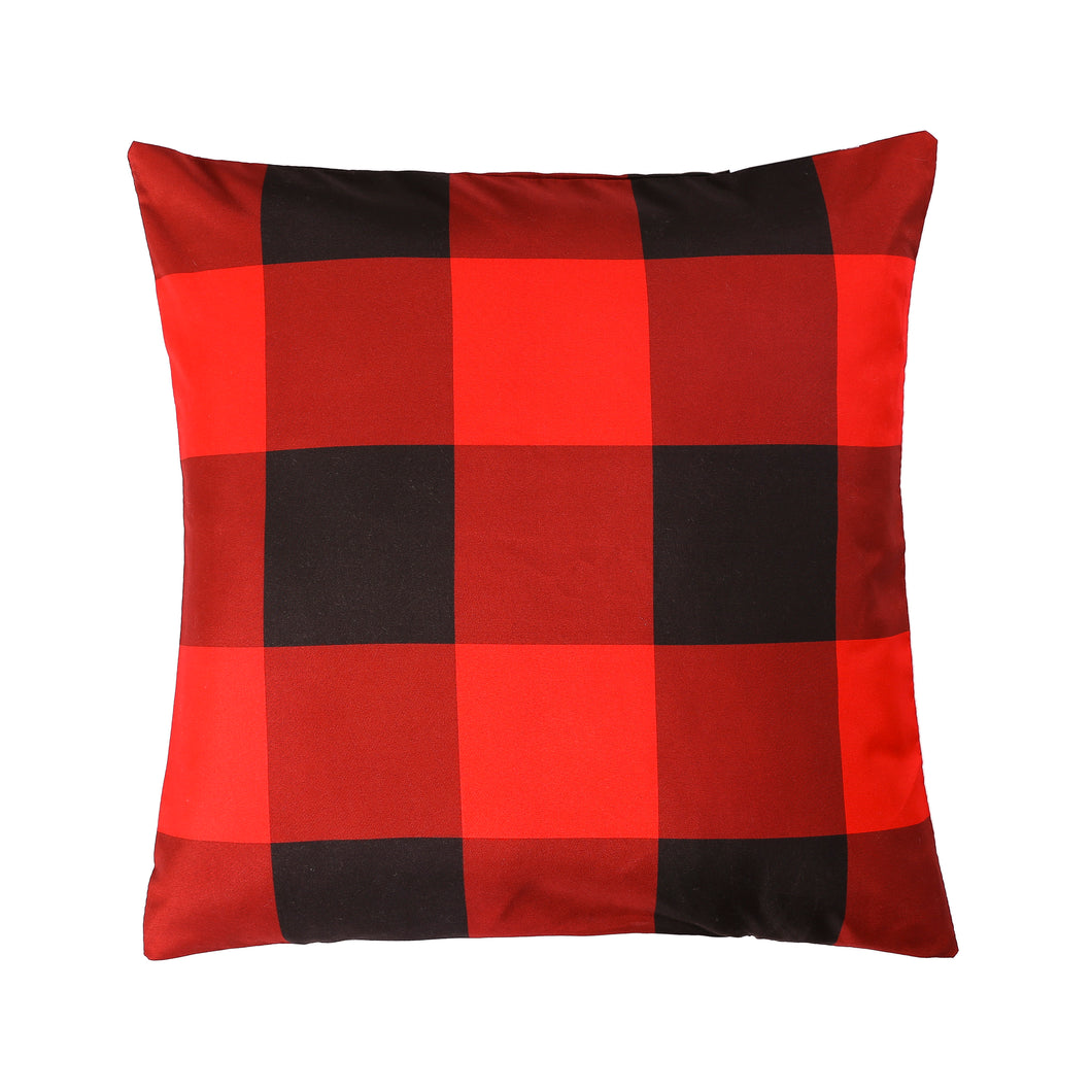 Red Buffalo Printed Cushion