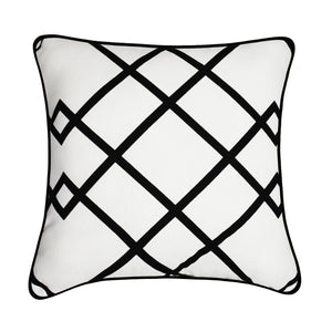Whippet Decorative 100% Cotton Throw Cushion