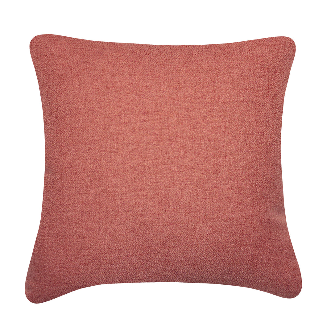 Coral Solid Cushion