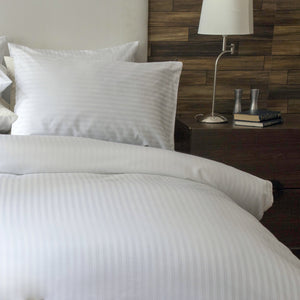 SilverClear 250TC Dobby Stripe Duvet Cover