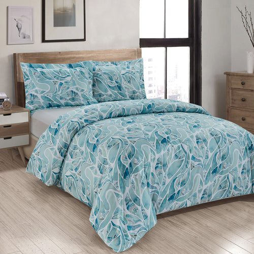 Chimera Printed Duvet Cover Set