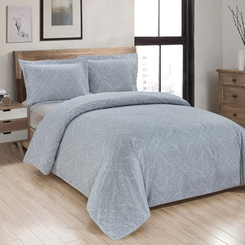 Daphne Printed Duvet Cover Set