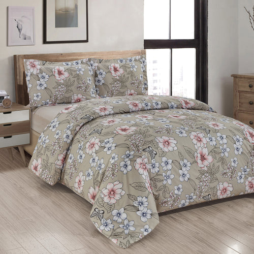 Magnolia Printed Duvet Cover Set