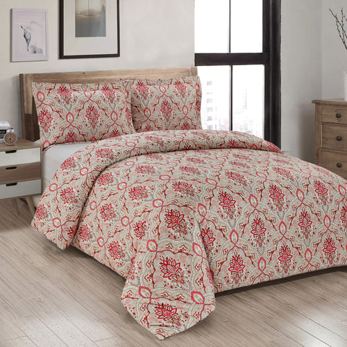 Nadine Printed Duvet Cover Set