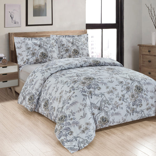 Sadie Printed Duvet Cover Set