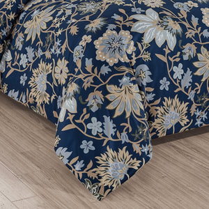 Wildfower Printed Duvet Cover Set