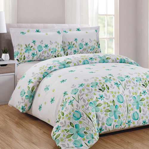Evelyn 3pc Duvet Cover Set