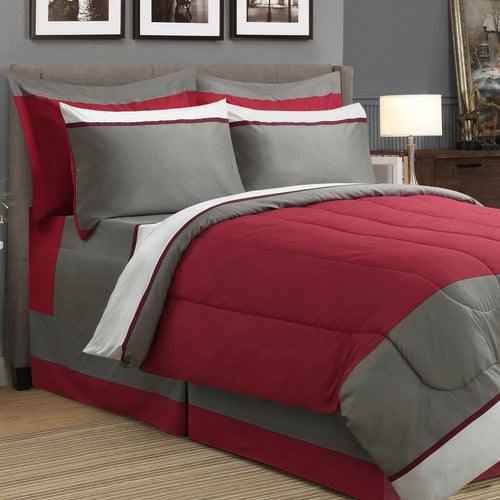 Dalton 8pc Bed In A Bag Comforter Set