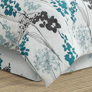 Dahlia 8pc Bed In a Bag Comforter Set