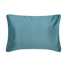 Load image into Gallery viewer, Faux Silk Reversible Boudoir Pillow