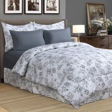 Load image into Gallery viewer, Finley 8pc Bed In a Bag Comforter Set
