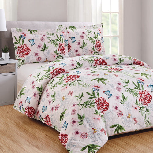 Gardenview 3pc Duvet Cover Set
