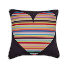 Load image into Gallery viewer, Jess Gorlicky Rainbow Heart Cushion