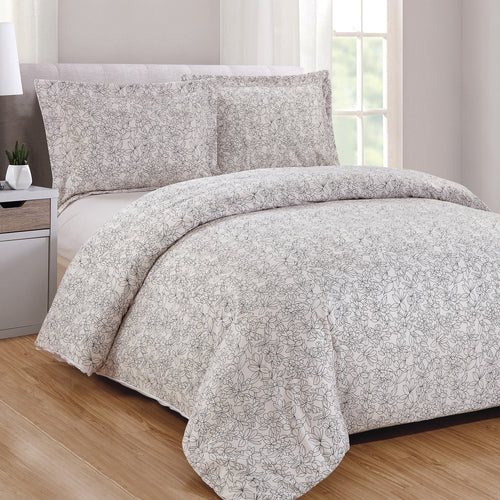 Laurel 3pc Duvet Cover Set