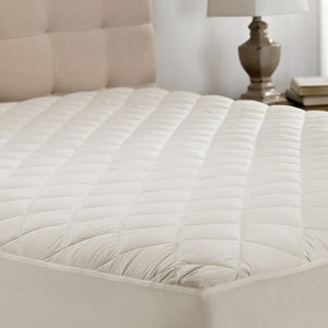 Millano 100% Cotton Certified Organic Mattress Pad