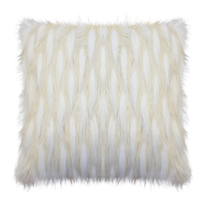 Ostrich Faux Fur Cushion