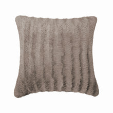 Load image into Gallery viewer, Fun Fur Chevron Cushion