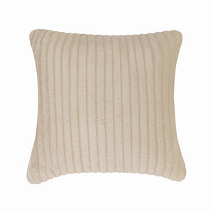Fun Fur Stripe Cushion